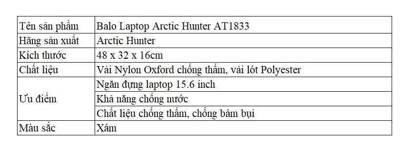 Arctic Hunter AT1833