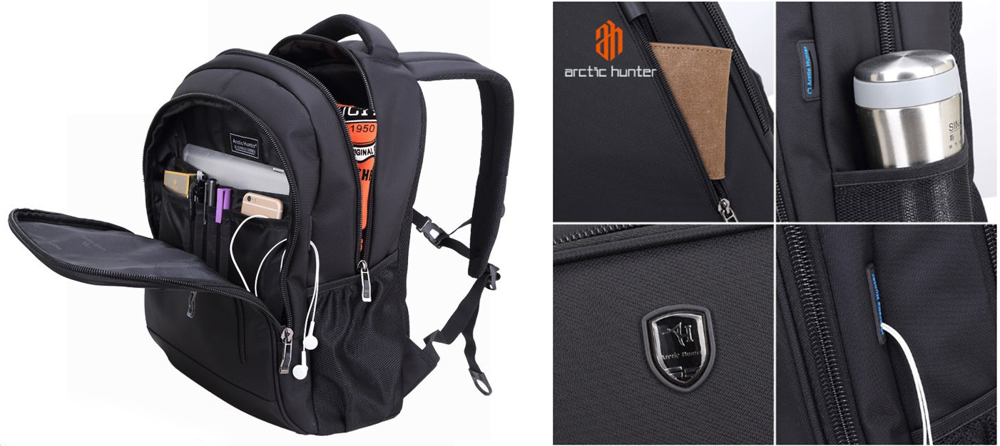 Balo Laptop Arctic Hunter AT1836